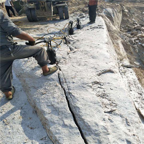普陀不允许放炮岩石液压破裂机哪里便宜