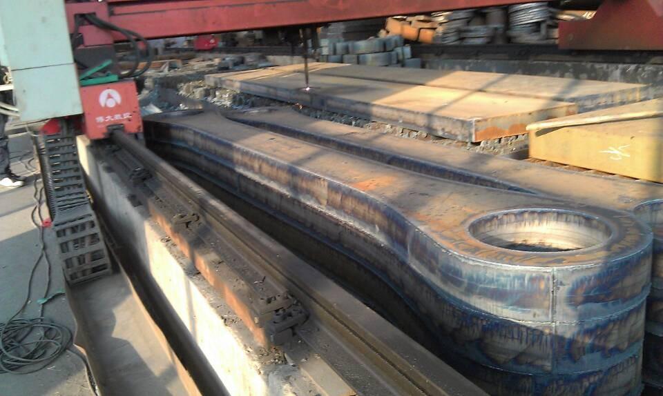 广州Q235B钢板切割报价