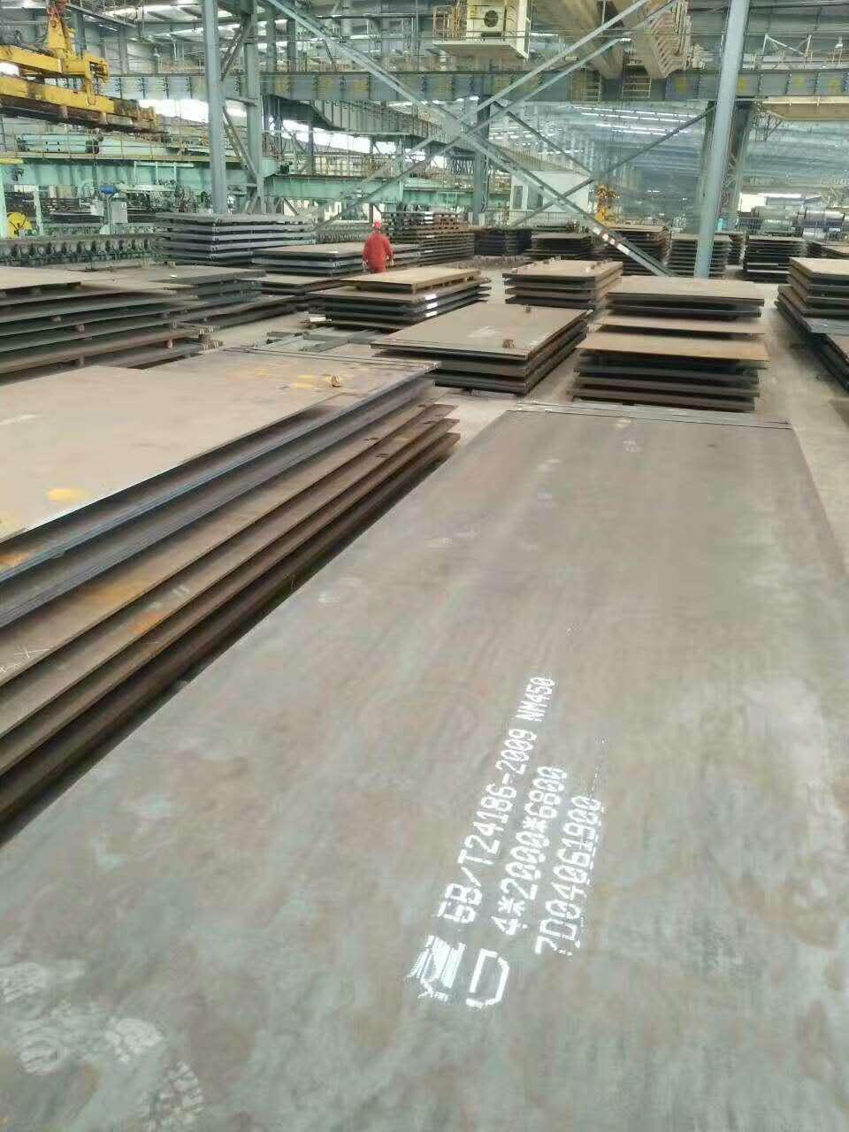 云浮宝钢NM400钢板现货代理商