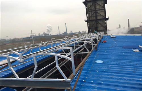 吉林平移通风天窗屋顶电动天窗山东生产厂家车间