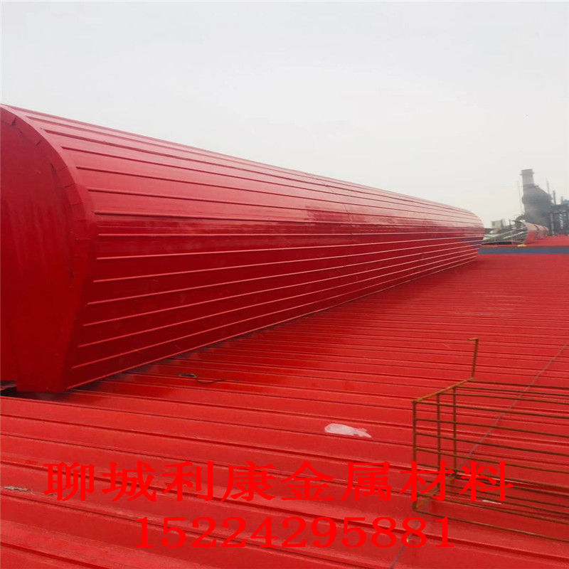 汕尾顺坡通风天窗屋顶通风生产厂家