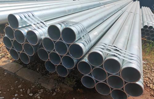 郑州大口径镀锌无缝圆管16mn镀锌管钢管现货表