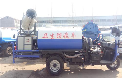 广州时风10吨工地洒水车在