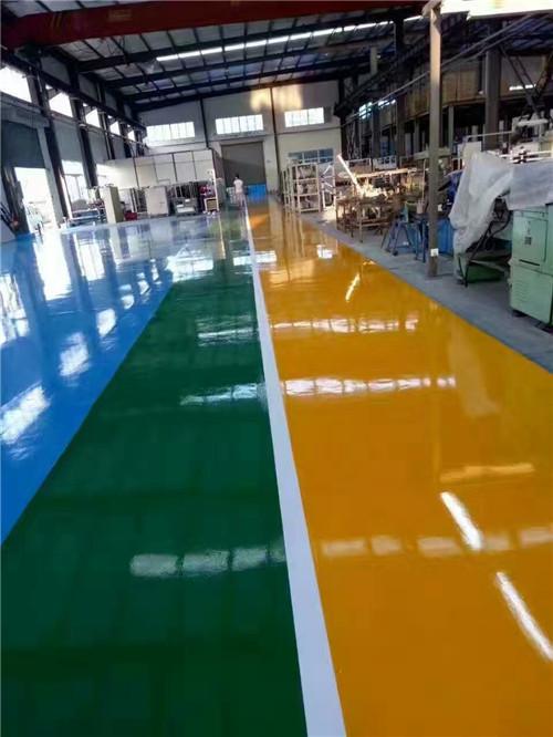 青岛环氧砂浆地坪设计车库交通设施