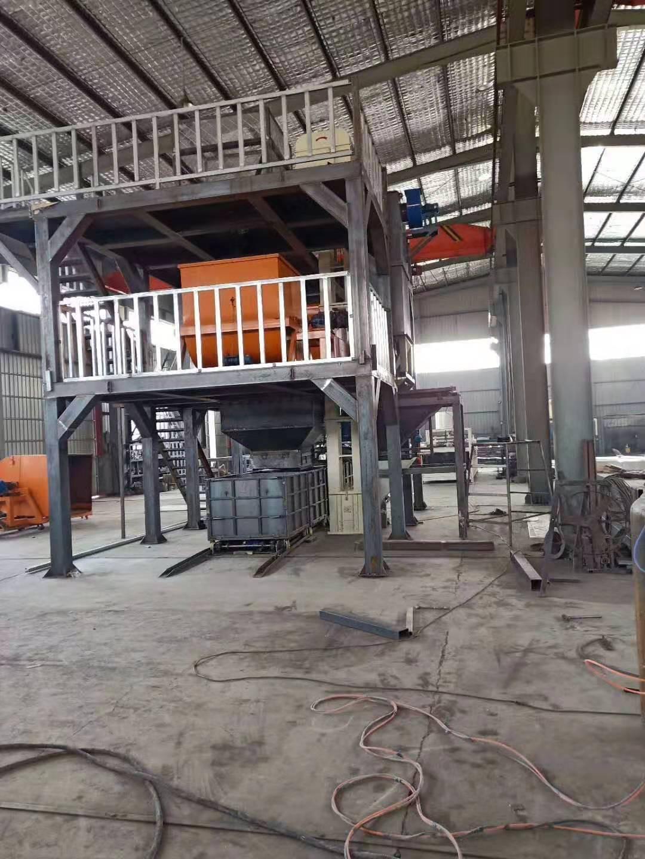 三门峡模箱压制匀质板生产设备制作方法