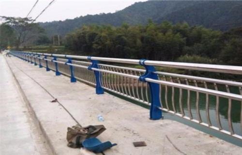 晋中白钢桥梁护栏设计