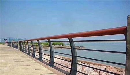 丽水防撞桥梁钢板立柱外边美观