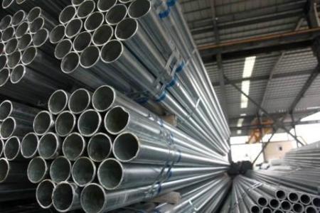 广州友发热镀锌钢管生产基地