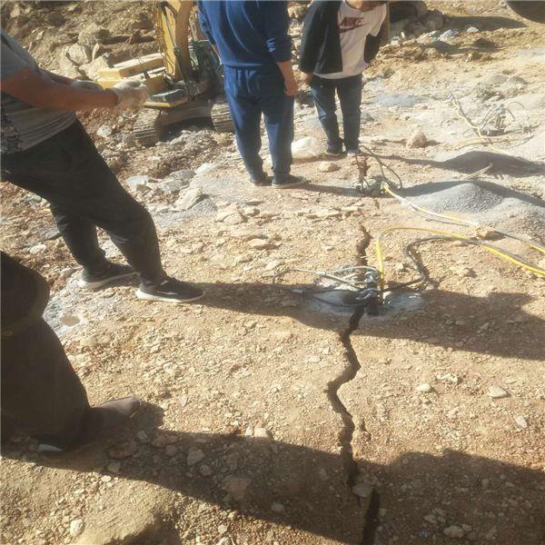 矿山分解岩石静态放炮设备三亚