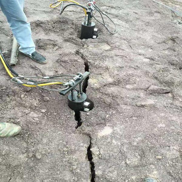 硬石头开挖劈石机永州